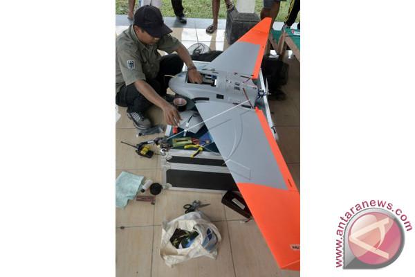 Drone Pemantau Gunung Agung