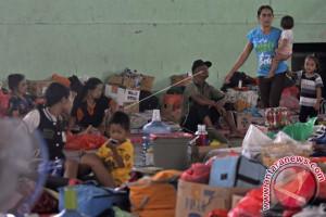 BPBD Buleleng Catat Pengungsi Gunung Agung 4.000 Jiwa