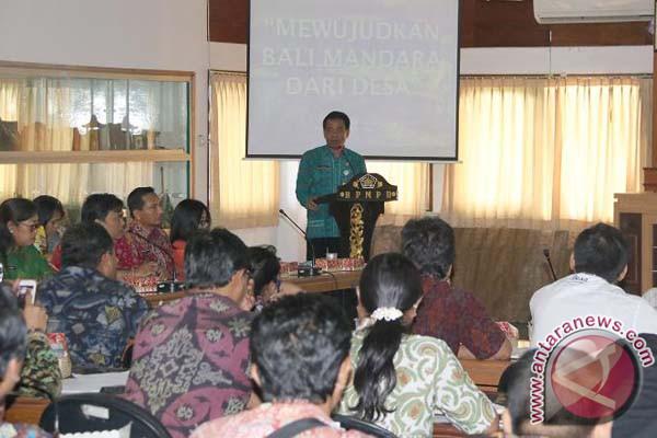 Pemprov Bali Gandeng Mitra Usaha Dorong Kemajuan Bumdes
