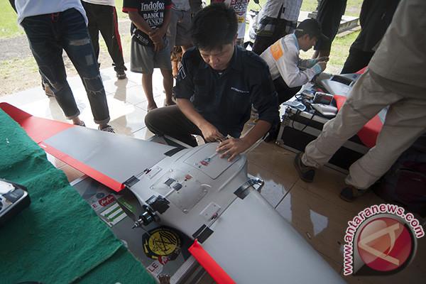 Drone Pemantau Kawah Gunung Agung