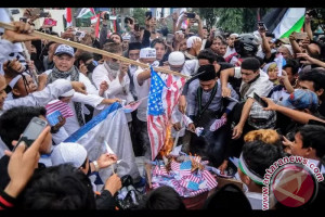 AS Ingatkan Warganya di Indonesia Hindari Lokasi Demonstrasi