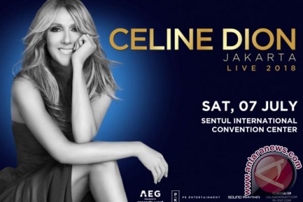Celine Dion umumkan akan konser di Jakarta