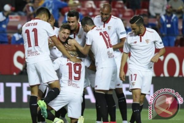 Sevilla kalahkan Atletico 2-1 pada Copa del Rey