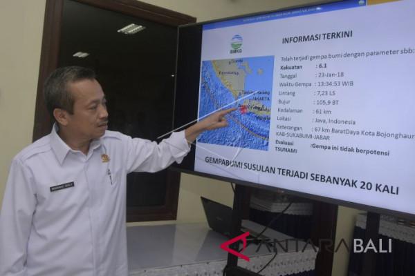 Penjelasan BMKG Terkait Gempa Banten