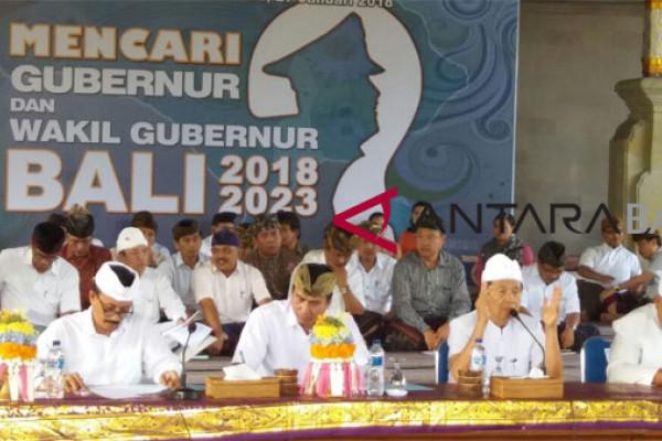 Gubernur Bali: wujudkan pilkada berkualitas
