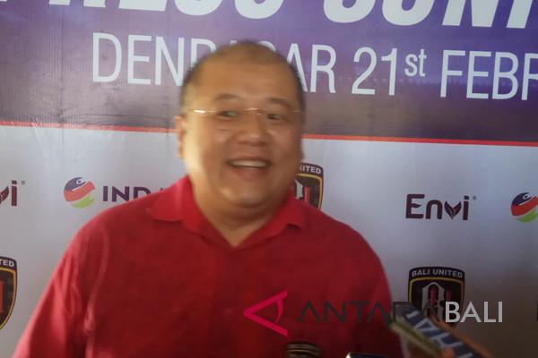 Bali United didukung sponsor operator seluler