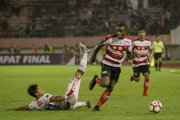 Bali United kalahkan Madura United