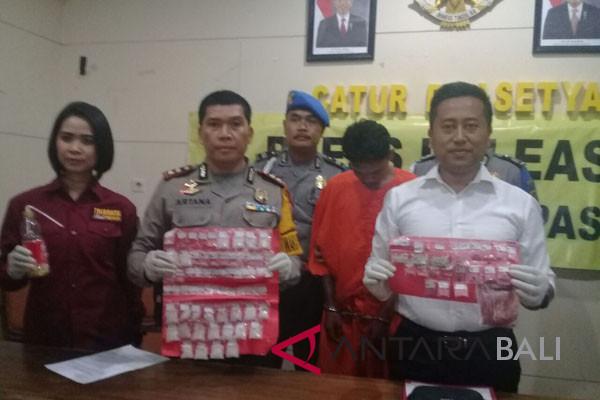 Polresta Denpasar bekuk residivis peredaran narkoba