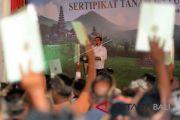 2019, Presiden Jokowi targetkan seluruh Bali sudah bersertifikat