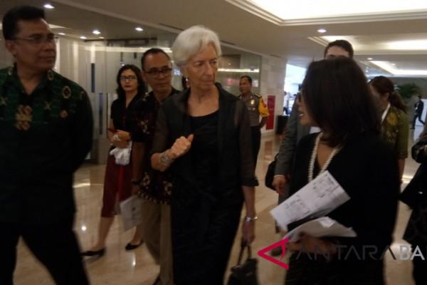 IMF Managing Director visits Nusa Dua Bali