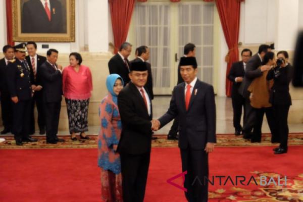 Presiden Jokowi lantik Heru Winarko pimpin BNN