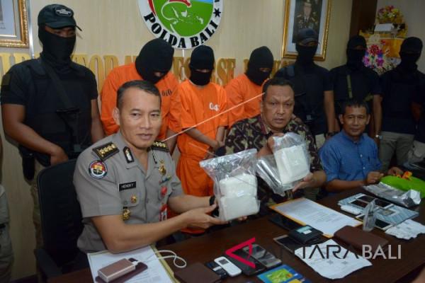 Pengedar Narkoba Lintas Pulau Ditangkap