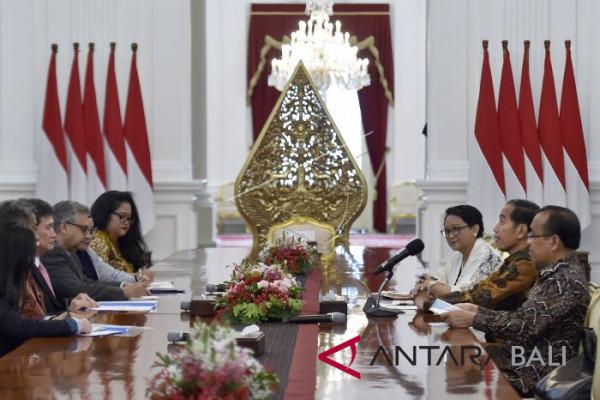 Presiden Bertemu Sekjen ASEAN