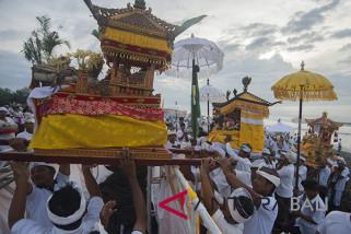 Hening dan keunikan Nyepi daya tarik Bali