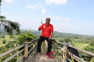 Bupati Bangli: tata dan benahi objek wisata