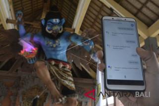 Pemuda Denpasar rancang ogoh-ogoh terkoneksi internet