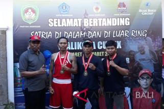 Tiga petinju Klungkung raih medali 'Wali Kota Cup'