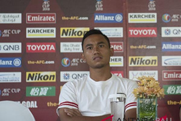 Pemain Bali United Ricky Fajrin siap hadapi Barito Putra