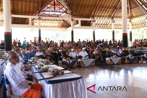 Pemprov Bali adakan Dharma Shanti Nyepi Jumat