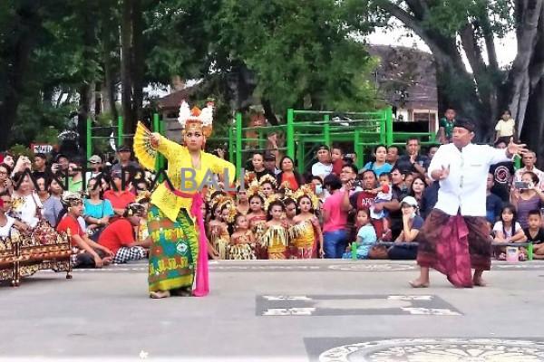 """Sanggar Maruta kenalkan """"Joged"""" pada anak-anak"""