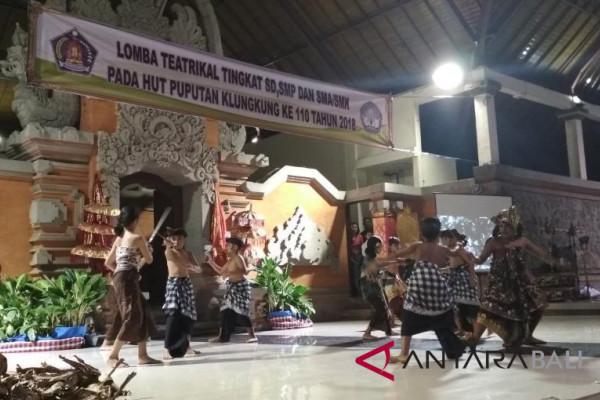 36 Murid SD Klungkung ikuti lomba teatrikal