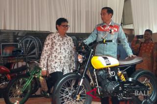 Presiden Jokowi buka pameran kendaraan IIMS 2018