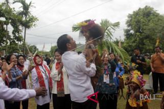 Jokowi di Tanah Papua
