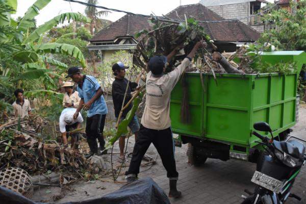 Pemkot Denpasar dorong semangat masyarakat gotong-royong
