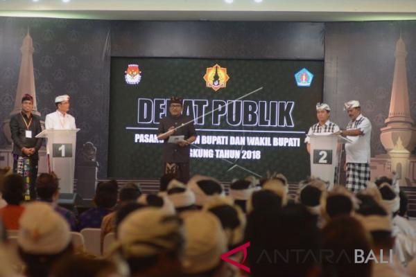Debat Pilkada Klungkung