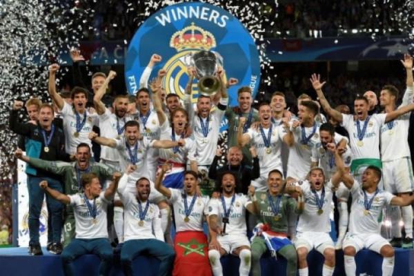 Real Madrid juara Liga Champions tiga musim beruntun