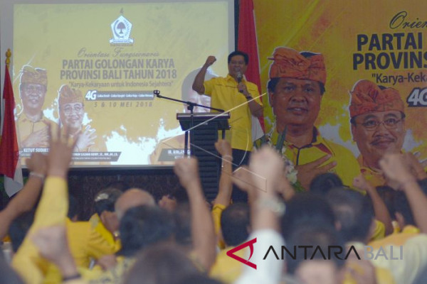 Orientasi Fungsionaris Golkar Bali
