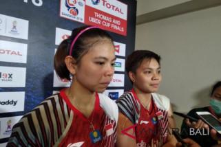 Hasil pertandingan grup D Piala Uber : Indonesia - Malaysia 3-2