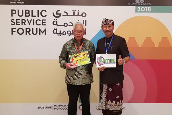 """Gotik"" Badung wakili Indonesia ikuti UNPSA award"