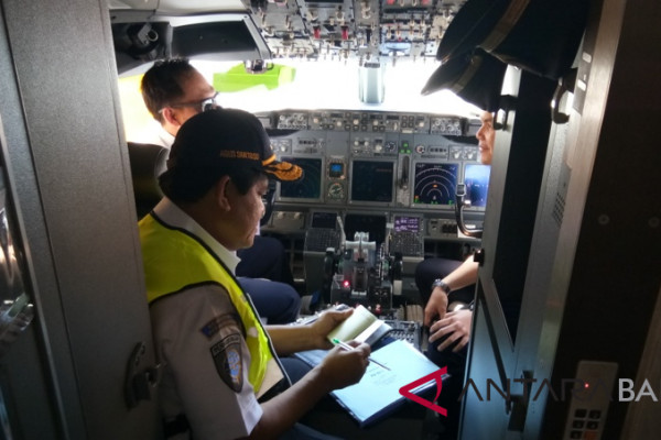 Kemenhub cek kelaikan pesawat di Bandara Bali (video)