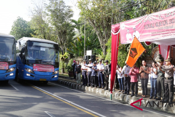 Pemkab Tabanan koordinasikan mudik bersama 579 orang