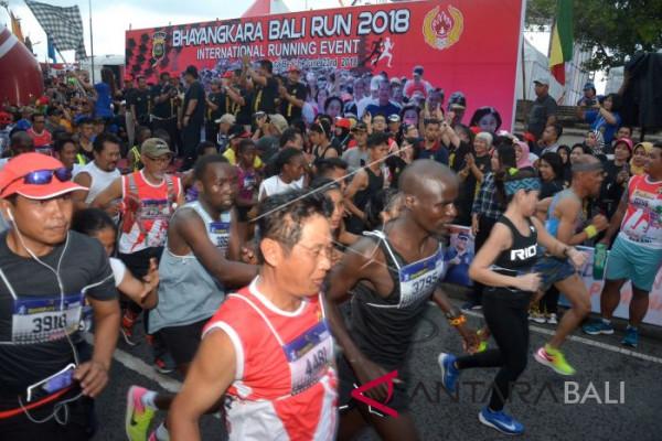 Sepuluh Atlet Kenya sabet juara Bhayangkara Run