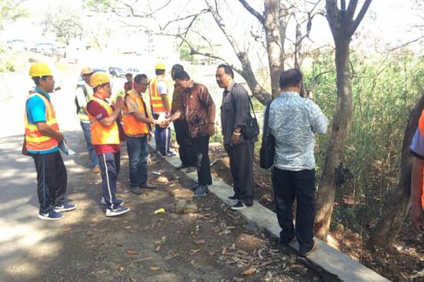 DPRD Bali lakukan sidak jalan Padangbai Karangasem