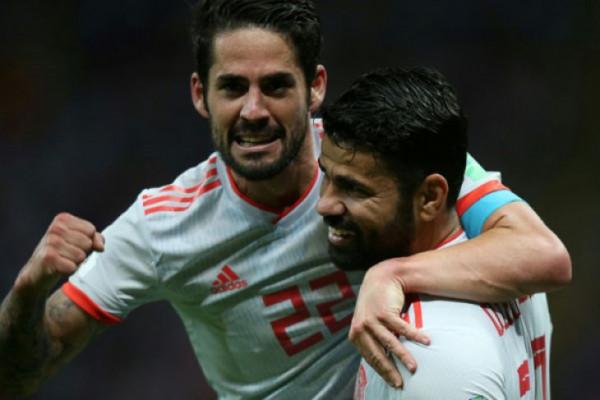 Spanyol taklukkan Iran 1-0