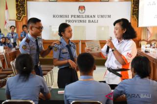 KPU Bali sosialisasikan pilkada pada pemilih pemula