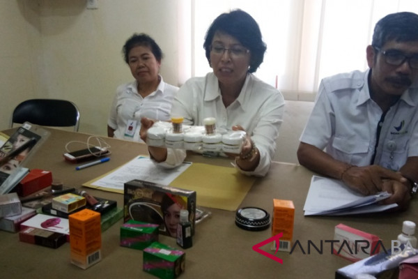 Ribuan produk kosmetika ilegal disita BBPOM Bali