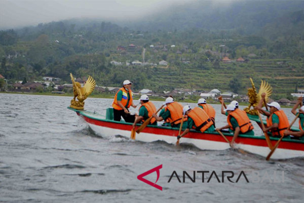 """Lion Pedau"" attracts several tourists to visit Lake Buyan"