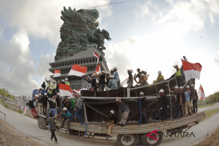 Penyelesaian pembangunan patung GWK