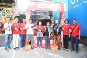 """Telkomsel-Cellular World Serahkan mobil-motor untuk pemenang Program """"J4GO"""""""