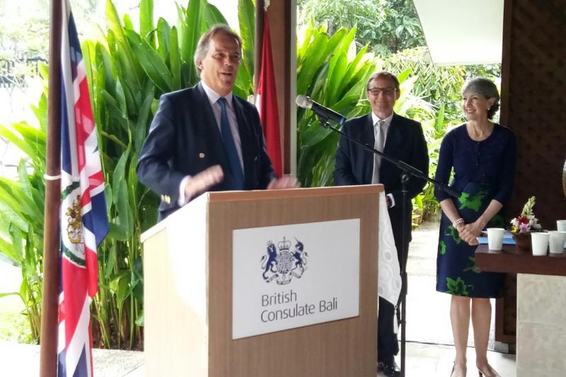 Inggris resmikan kantor konjen baru di Bali