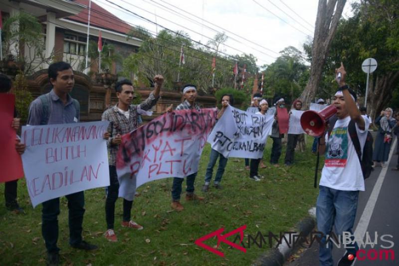 Aksi Tolak PLTU Celukanbawang