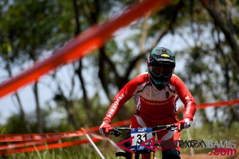 Indonesia amankan dua medali emas downhill