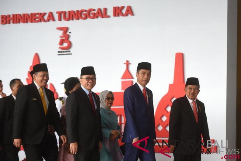 Presiden hadiri Sidang Tahunan MPR