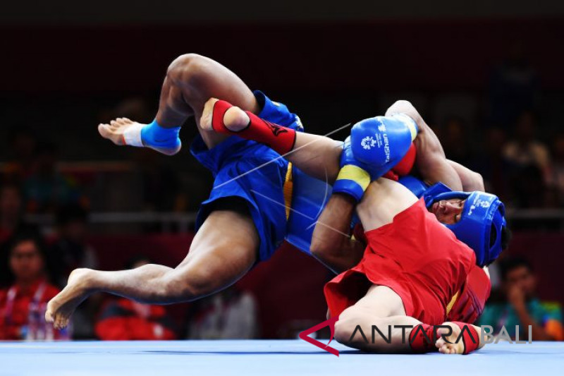 Indonesia gains bronze in men`s 70-kg Sanda