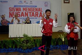 23 peserta SMN 2018 ikuti pembekalan BUMN-jurnalistik (Jiwasraya, RNI, HIN, Antara Bali)