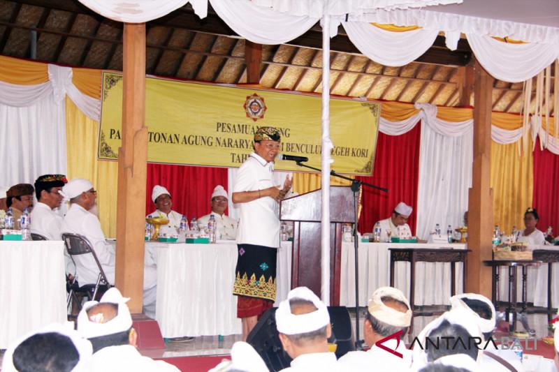 """Gubernur harapkan """"Pasemetonan"""" satukan masyarakat Bali"""